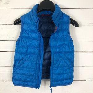 UNIQLO Kid's Light Warm Padded Vest ColorBlue,